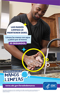 Clean Hands in the Kitchen Poster Thumbnail