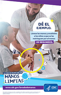 Clean Hands Lead by Example Poster Thumbnail