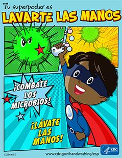 Afiches | El lavado de las manos | CDC