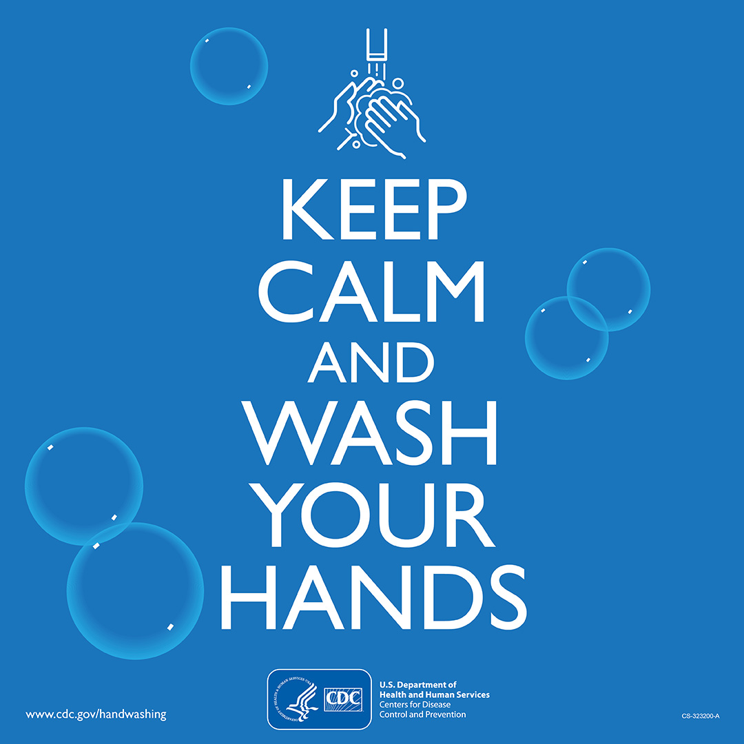 Image result for stay calm and wash your hands cdc