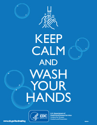 Keep Calm and Wash Your Hands (english version)