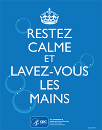 Keep Calm and Wash Your Hands (french version)