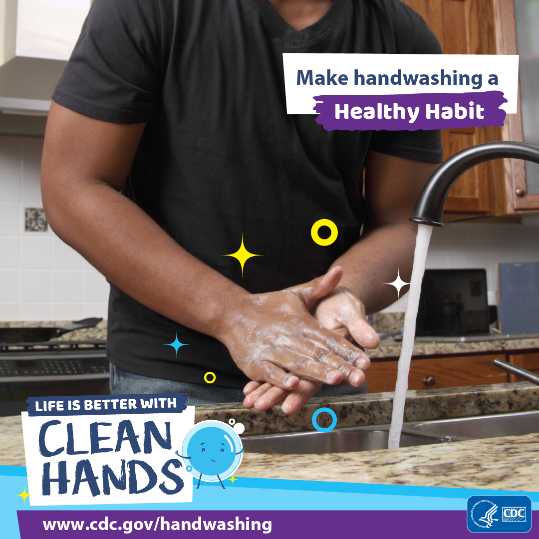 Make handwashing a healthy habit - Instagram.
