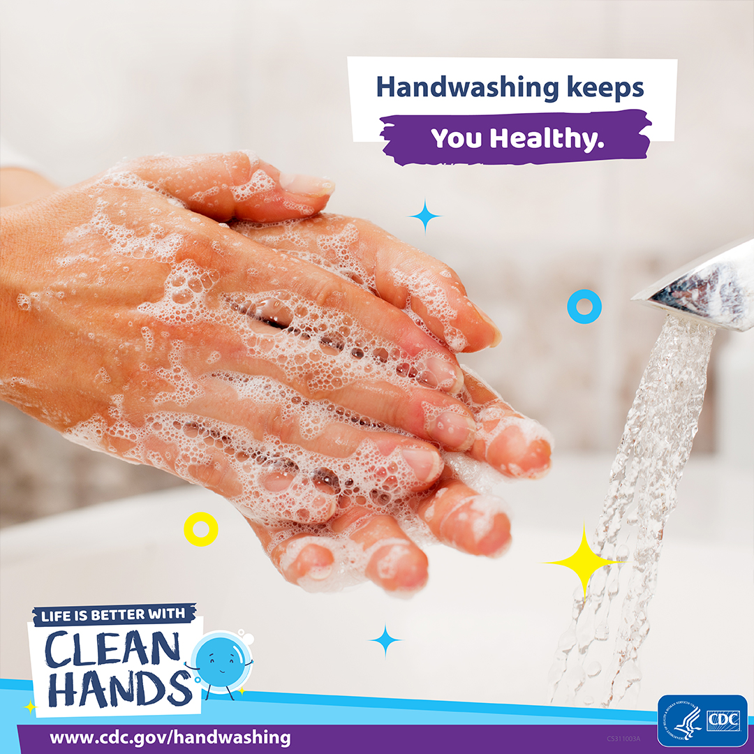 Handwashing keeps you healthy