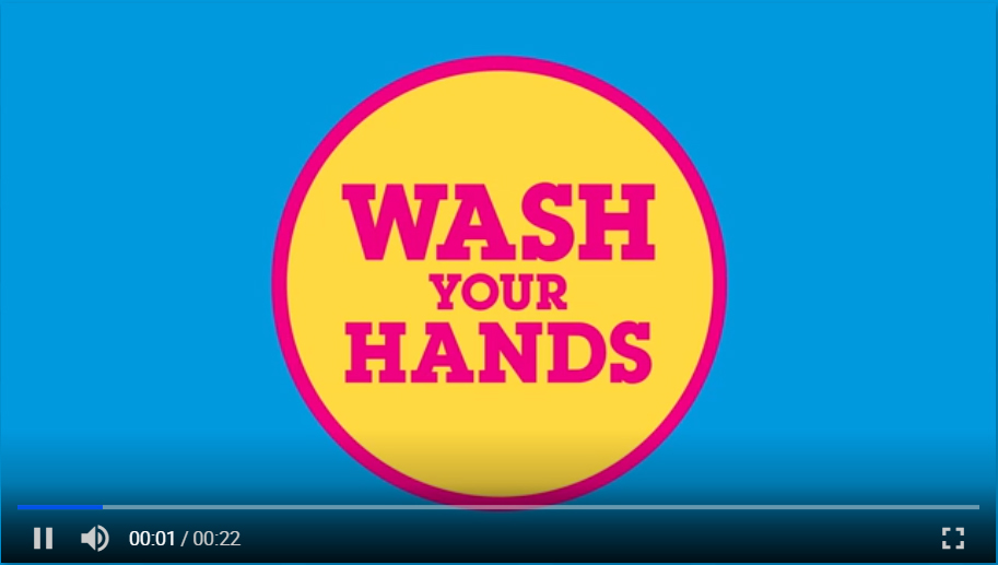 Stay Safe: Handwashing PSA campaign with Cartoon Network