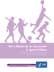 Heads Up on Concussion in Sports Policies cover
