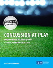 Concussion at Play: Opportunities to Reshape the Culture Around Concussion - report cover