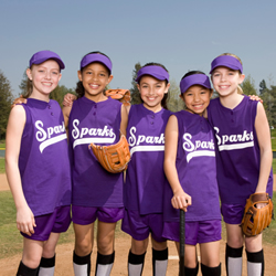 photo: softball team