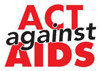 Act against AIDS logo