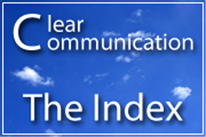 CDC Clear Communication Index