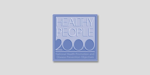 Healthy People 2000 logo