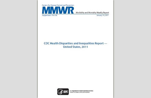 CDC CHDIR Report cover