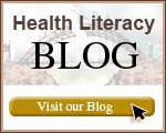 Health Literacy Blog button