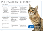 Pet Disaster Kit Cover