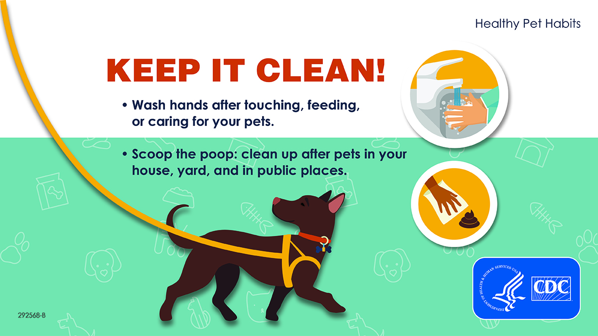 Social Media Graphic: Keep It Clean!