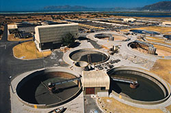 Centralized wastewater treatment system