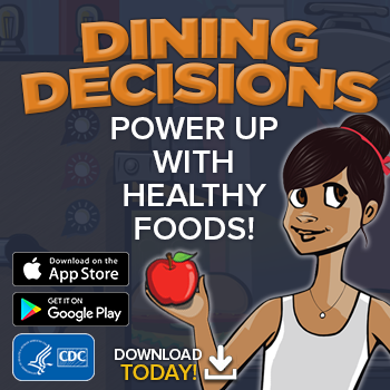 BAM Dining Decisions Mobile App badge