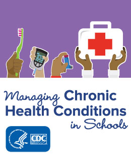 CDC Managing Chronic Health Conditions in Schools Web Badge