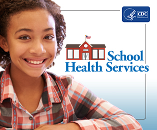 CDC Support Health Services in Schools Web Badge