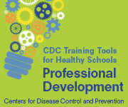 CDC Training Tools for Healthy Schools: Professional Development Web Badge