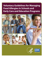 Voluntary Guidelines for Managing Food Allergies In Schools and Early Care and Education cover image