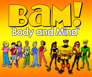 CDC BAM! Body and Mind Web Badge