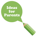 Ideas for Parents green pencil image