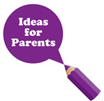 Ideas for Parents purple pencil image