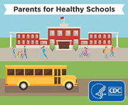 CDC Parents for Healthy Schools Web Badge