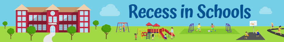 CDC Recess in Schools banner image