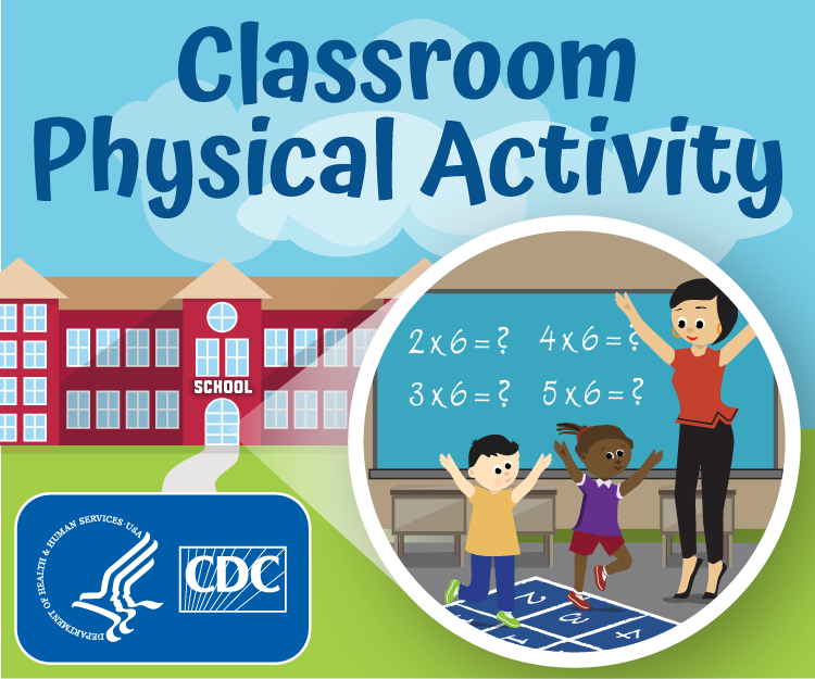 CDC Classroom Physical Activity Web Badge