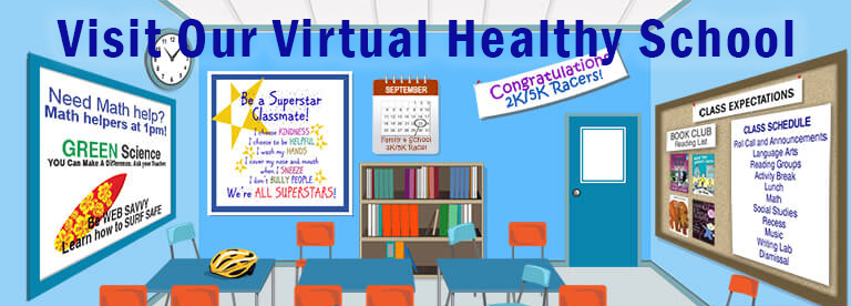 Visit Our Virtual Healthy School