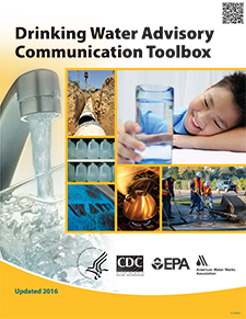The cover of the 3rd edition of the Drinking Water Communications Toolbox