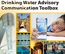 cover of the Drinking Water Advisory toolbox