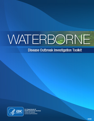 PDF cover image for the Waterborne Disease Outbreak Investigation Toolkit