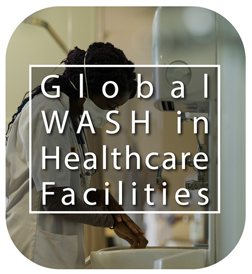 Global WASH in Healthcare Facilities button