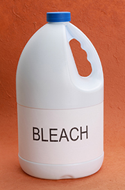 bottle of bleach