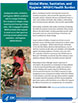 Global WASH - Health Burden fact sheet