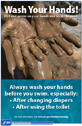 A thumbnail image of the Why Not Wash Your Hands poster