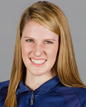 portrait of the Olympic swimmer Missy Franklin