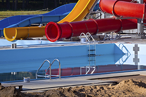 building a pool or water park