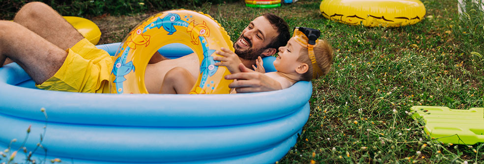Inflatable And Plastic Kiddie Pools Healthy Swimming Healthy Water Cdc