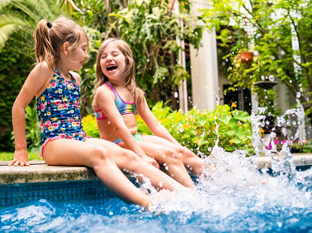 Stay Safe And Healthy In Your Backyard Pool Healthy Swimming Healthy Water Cdc