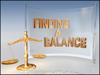 Finding a Balance screen capture image