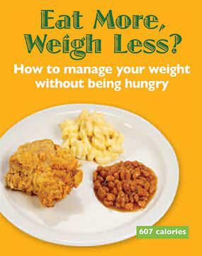 Image Eat More weight less poster