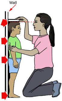 how to measure children's height