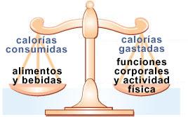 C mo balancear las calor as peso saludable dnpao cdc - Como calcular las calorias de los alimentos que consumo ...