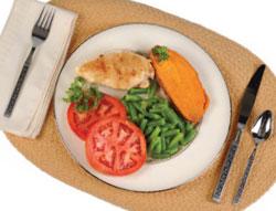 Dieta de vegetales y frutas