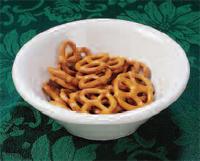 "Papitas ""chips"" o pretzels"