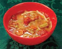 Sopa a base de caldo